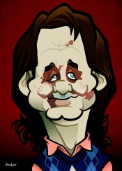 billmurray caricature zombieland disguise funny zombies