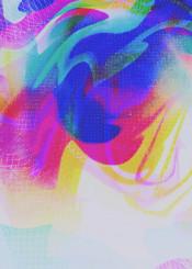 abstract digital glitch glitchart