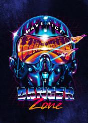 zone top gun danger pilot maverick fighter plane helmet pop geeky gift nerdy black war