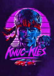 kungfury karate movie 1980s lamborghini knuckles fight gift hitler germany purple ken