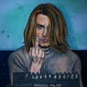 Cocain by pastels and pencils