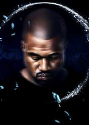music hiphop rap fashion star black style culture yeezy portrait rapper art west