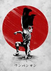 saitama one punch man anime manga japan sun