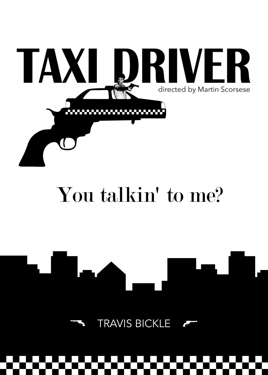 """You talkin' to me?"" - Travis Bickle Taxi Driver is a 1976 American v"" 247452"