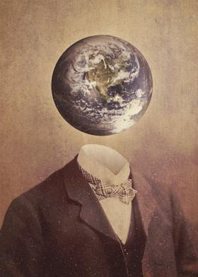 surrealism digital collage vintage