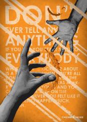 text art orange written typography hands motivational motivation speaker inspiration