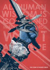 red hands typography sword monte cristo text art written words inspiration motivation motivational speakers