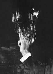 dark surreal surrealism abstract portrait man blackandwhite black white monochrome bjorn norberg suit