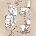 patent art Fields Toilet seat lifter 1967