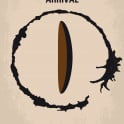 No735 My Arrival minimal movie poster  When 12 mysterious spacecraft appear around the world, linguistics professor Louise Banks is tasked with interpreting the language of the alien passengers inside.  Director: Denis Villeneuve Stars: Amy Adams, Jeremy Renner, Forest Whitaker