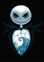 the nightmare before christmas tim burton jack skellington skeleton oogie boogie halloweentown halloween portrait sally
