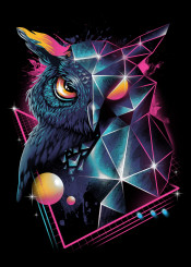 owl owls animal animals bird rad cyberpunk original