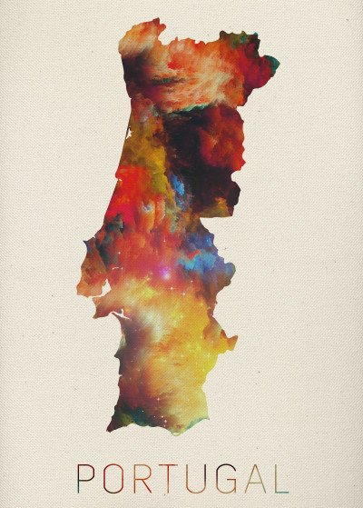 Design Turnpike Watercolor Maps of the World   Displate Prints on Steel