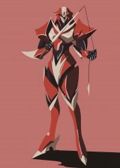 tekkaman blade rapier armour girl female armor uchuu no kishi teknoman anime mecha