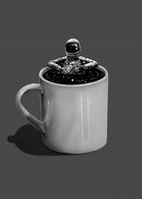 Have A Break -  Astronaut in a space coffee mug. What ...