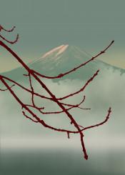 japan japanese asian oriental mountain jade calm minimalism yoga meditation zen tranquil fog balance relax