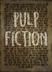pulp fiction ezekiel quote tarantino quentin movie kult