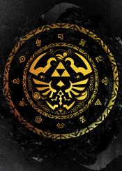 triforce triangle ink symbol link zelda legend of games game gamer gaming japan japanese gold golden line mask adventure tribe mmaster swordsman
