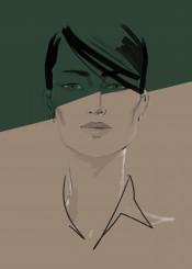 fashion fashionart portrait fashionportrait style beauty minimalism shadow chic simple art illustration fashionillistration