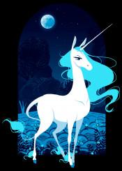 amalthea last unicorn lady cartoon movie 80s