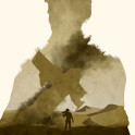 Poster design for the video game, Uncharted 3.