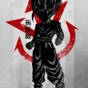 Crimson Saiyan Trunks