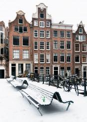 snow amsterdam architecture europe heineken