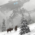1920 - winter walker  from my 1920+ world and Scythe game,  cheers!