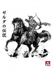 zelda legend hyrule gaming gamer epona link japan art japanese kanji