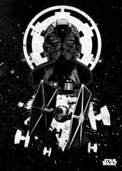 tiefighter tie star wars pilots stormtrooper