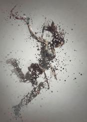 lara croft tomb raider game gaming splatter