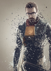 gordon freeman half life game gaming splatter