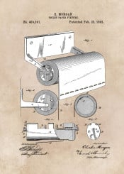 patent art patents arts home decor decoration bath bathroom toilet paper