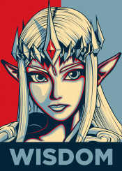 zelda princess link wisdom power courage triforce hyrule hylian ideal idealcharacters red blue
