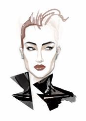 fashion fashionart fashionportrait portrait woman beauty minimal fashionillustration chic style