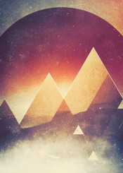 abstract landscape digital design illustration graphicdesign