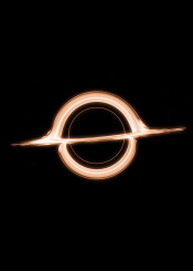 interstellar black hole gargantua christopher nolan sci space universe star planet gravity wormhole simple minimal