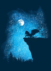 how train your dragon movie popular culture moon