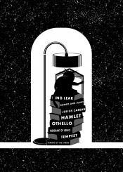 black white cat book books reading william shakespeare hamlet romeo juliet othello literature
