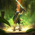 That epic moment when you grab the Master Sword :)
