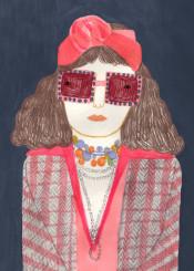 fashion girl gucci