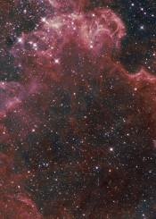 painting watercolor digital space universe galaxy stars nebula dark purple