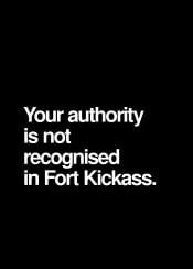 fort kickass authority not recognised dr kreiger archer