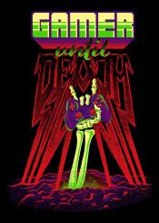 gamer gaming videogame retro retrogamer gamepad lifestyle undead zombie grave dead death skeleton bones metal heavy heaymetal