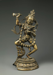 vintage sculpture asia hindi india dancing god