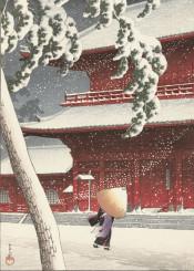 japan urban winter city lifestyle asia classic