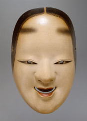 vintage mask classic japan