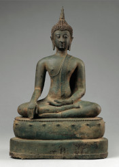 vintage sculpture hindi india asia budda zen