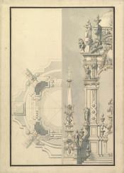 architecture ornaments vintage plans blueprints
