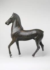 classic sculpture horse